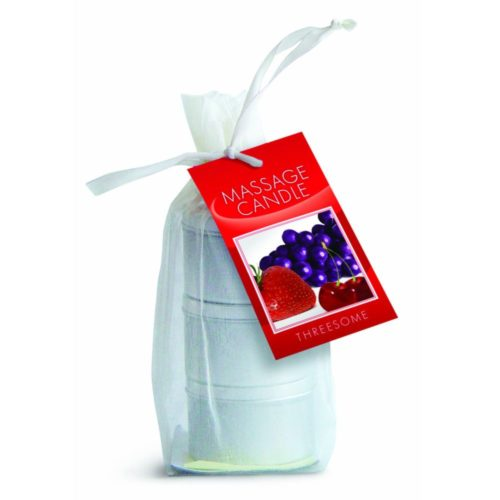 candle 3 pack edible cherry grape strawberry