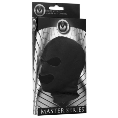 master series facade hood with eye and mouth holes os
