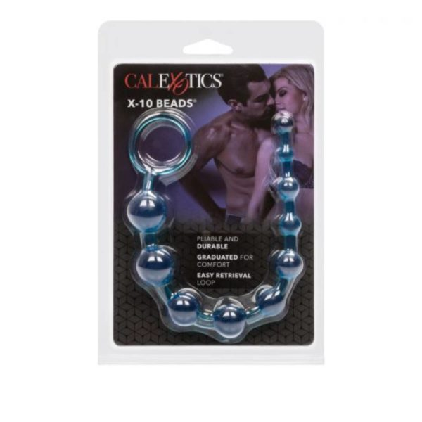 CalExotics X-10 Graduated Anal Beads