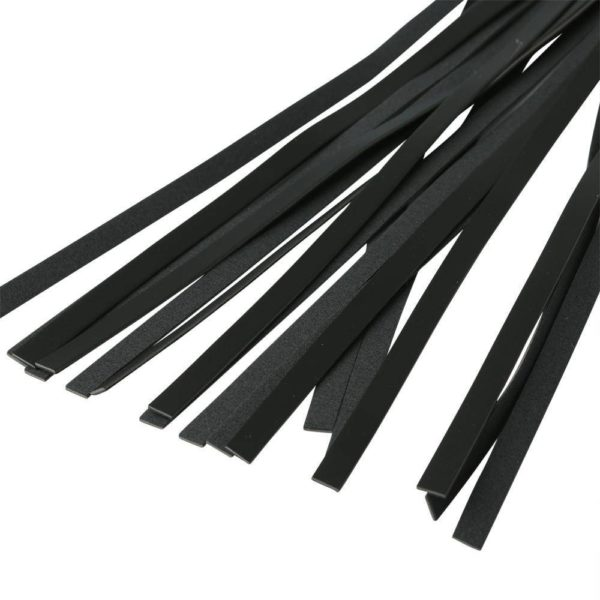 S&M Vegan Leather Sparkle Flogger